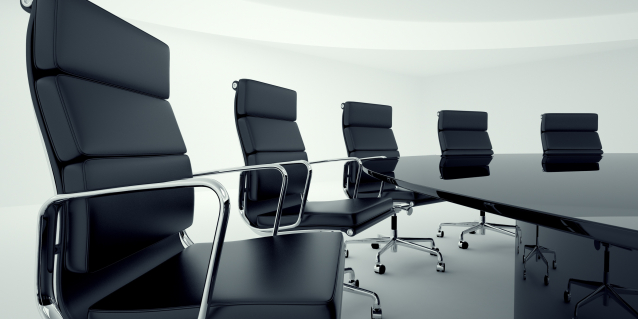 chairs in boardroom
