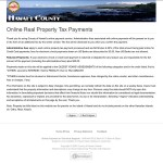 Pay your real property tax bill for property in Hawaii county.