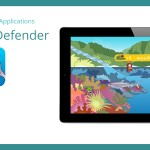 You can learn about the connection of land and sea by playing the game Reef Defender. The good guy in Reef Defender is the shark.