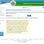 The business name search allows you to search all businesses registered with the Department of Commerce and Consumer Affairs in Hawaii. Most documents and filings are available to purchase.