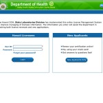 Apply or renew your laboratory license online with the Department of Health.