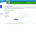 Renew a commercial fishing license online.