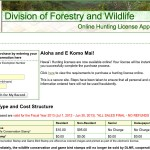 Purchase and print a hunting license instantly online.