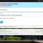 Look up insurance license information for individuals or companies.