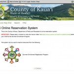 Register, pay, and submit child information for the Kauai Summer Enrichment program.