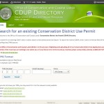 CDUP directory for users to purchase permit copies and any related information.